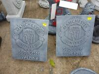 Liverpool and Manchester United garden ornaments - chelsea - arsenal - celtic - rangers