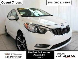 2015 KIA FORTE SX, TOIT OUVRANT, CUIR,  MAGS