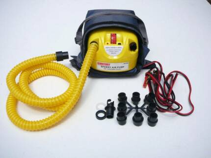 12V ELECTRIC AIR PUMP. INFLATABLE / KITE SURFING / SUP COMPRESSOR