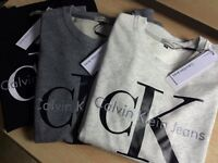 Calvin Klein Sweatshirts for Wholesale Only