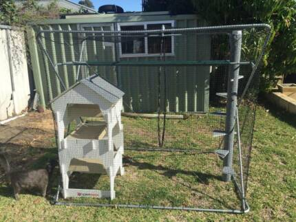 Outdoor Cat Enclosure - Very good condition Bicton Melville Area Preview