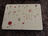 PIMPERNEL 6 MODERN COUNTRY PALCEMATS & MATCHING COASTERS