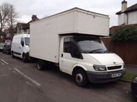 Ford Transit T350 MWB Luton Van 2002 with tail lift LONDON LEZ COMPLIANT