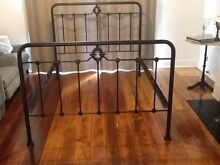Wrought iron double bed frame Ashfield Ashfield Area Preview