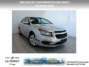 2016 CHEVROLET CRUZE LIMITED LT TURBO, TOIT OUVRANT, CAMERA