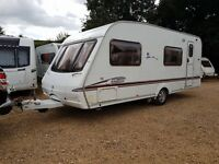 Swift Coastline 570 6 Berth caravan 2007 ,FIXED BUNK BEDS, MOTOR MOVER, Awning !