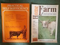 Practical Self Sufficiency 1-43 & Home Farm 44-90 Magazines