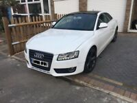 AUDI A5 TDI DIESEL MOT 2019 FULL LEATHER HEATED SEATS AUX CD CHANGER DAY XENONS HEADLIGHTS
