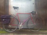 Dawes galaxy tour bike ideal for distance commuting etc,,