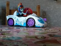 My Little Pony Equestrian Girls With Car.