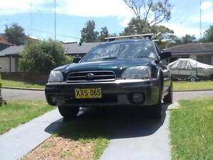 2002 Subaru Outback Wagon Dudley Lake Macquarie Area Preview