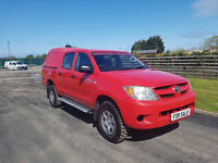 NO VAT 2006 06 TOYOTA HILUX 2.5 HL2 LWB DOUBLE CAB, PICK-UP TRUCK, PX WELCOME