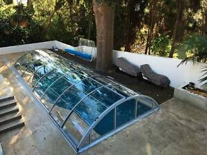 Multifunctional Pool Cover / Telescopic Pool Enclosure / EU Monterey Rockdale Area Preview