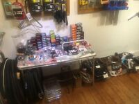 Bicycle Parts and Accessories (Shop Clearance)