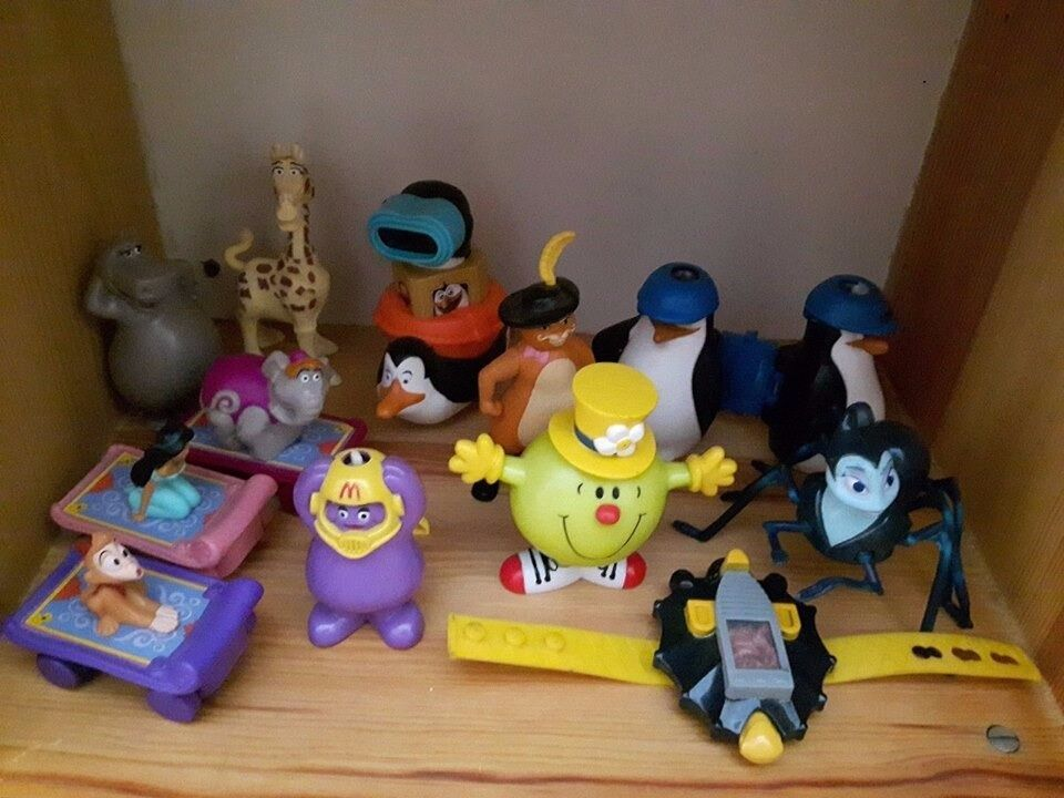 Toys From The 2000s : Mcdonalds happy meal toys bundle vintage s in