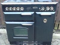 Electric rangemaster cooker 90cm