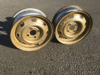 """Ifor Williams Plant Trailer Wheels 14"""""""