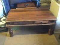 Oak coloured furniture. 5 pieces