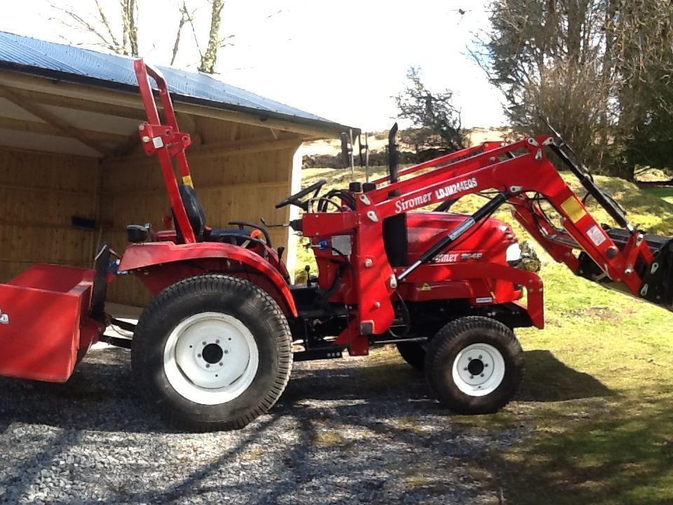 Small Tractor Top Link : Compact tractor e with ft tipping link box and