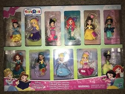 Hasbro Disney Princess Little Kingdom Collection of 11 TRU Toys R Us