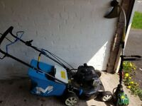 Lawnmower and Trimmer & Jet Wash set