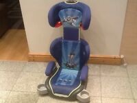 Toy Story design full highback 2piece car booster seat -15kg upto 36kg(4yrs to 12yrs)washed & clean