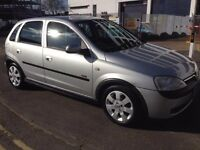 51 PLATE VAUXHALL CORSA 1.2 PETROL CHEAP TAX AND LOW INSURANCE, WITH LONG MOT, DRIVE PERFECT,