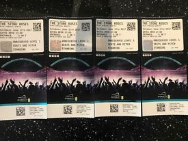Stone Roses tickets x4 Standing at Wembley 17th June 2017