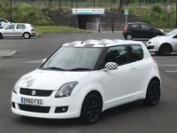 SUZUKI SWIFT 2010 1.3 SZ2 3D 91 BHP FULL SERVICE HISTORY 11 MONTHS MOT VERY CHEAP TO INSURE MINT CAR
