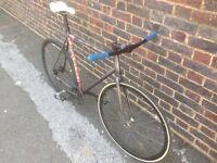 fixed gear/single speed BLB 58cm track bike