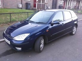 FORD Focus 1.6 petrol* MOT 06/2017* good condition