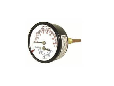 24 Tridicator Boiler Gauges Tri-rc-254r1.75-d 1.75 Long 14 Npt