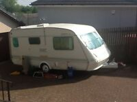 Elddis XL Hurricane....great family starter caravan