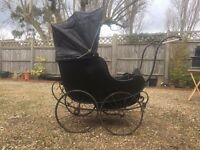ULTRA RARE COLLECTABLE LATE 1800'S - EARLY 1900'S PRAM - LOVELY ORNAMENT OR DECOR SHOP WINDOW PART