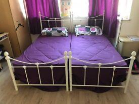 SINGLE BEDS X 2