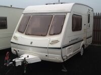 2002 abbey AVENTURA 312/2 berth light weight easy to tow