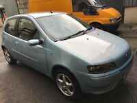Fiat punto 1.2 petrol 02-plate! 12mths mot! 94,000 miles! Reasonable condition! Good drive £350!!