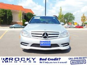 2011 Mercedes-Benz C-Class C250 4 - BAD CREDIT APPROVALS