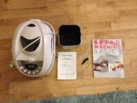 Bread maker and book