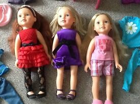 Designer dolls and accessories