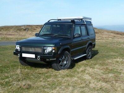 Land Rover Discovery 2 Td5 / V8  Heavy Duty 5mm Steel Winch Bumper  DA5645