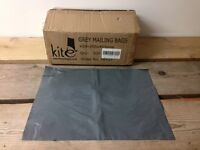500 Grey Mailing Bags