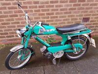batavus peddle and pop 50cc old classic 1974