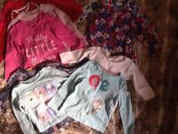 Baby clothes bundle. Girl ages 1-2 years. Over 30 items.