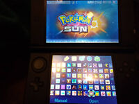Blue 3DS XL with 121 Best 3DS Games worth £1600 - Pokemon, Mario, Sonic, Zelda - GREAT HOLIDAY FUN!
