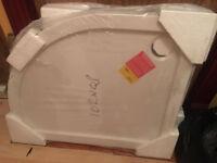 New Shower tray PEARLSTONE 900 x 760 x 40