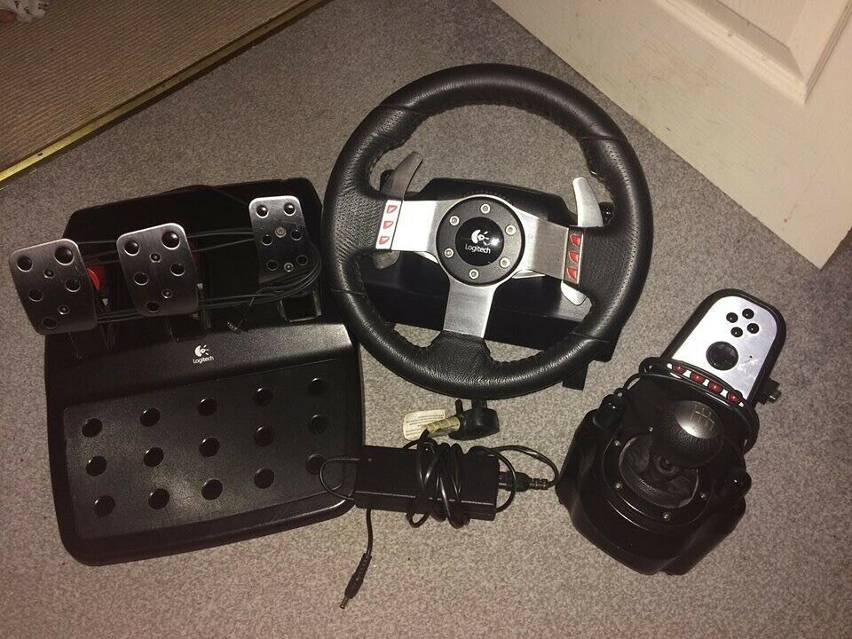 2131f8502bc Logitech G27 Steering wheel, shifter & Pedals   in Ludlow, Shropshire ...