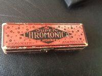 M. Horner Super Chromonica Harmonica made in Germany