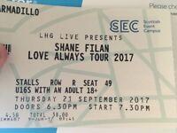 Shane Filan Concert Ticket