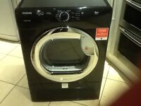 Hoover 9kg condenser tumble dryer ( Black )